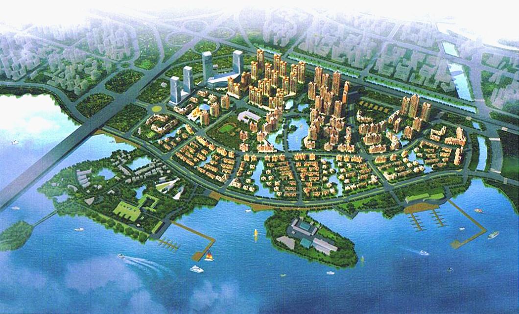 墨水湖南岸招商地产生态社区项目